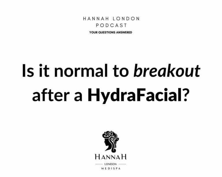 Is it normal to breakout after a HydraFacial?