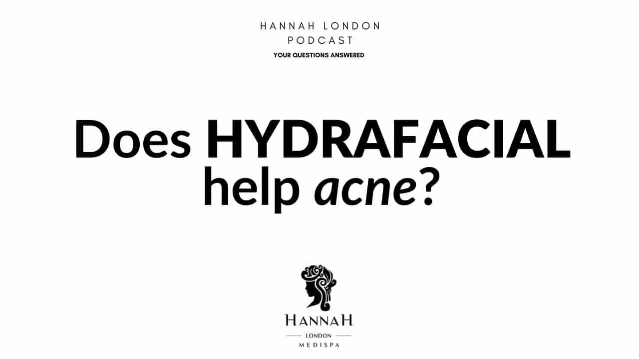 Does hydrafacial help acne