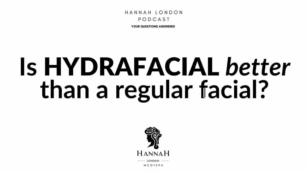 Is hydrafacial better than a regular facial?