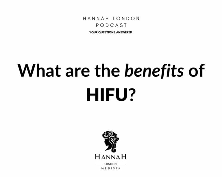 What are the benefits of HIFU?
